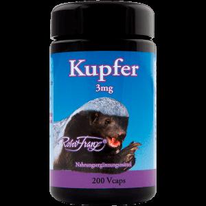 Kupfer 3 mg